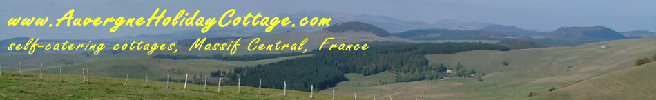 Auvergne Holiday Cottages view